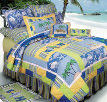 Sufer's Bay Quilt Set