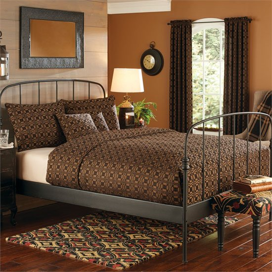 Campbell Black Bedding