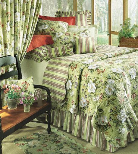 Magnolia Quilt Bedding by C&F Enterprises : magnolia quilt - Adamdwight.com