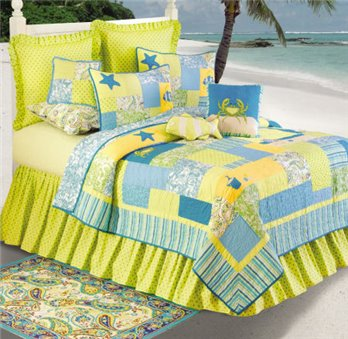 Beach Bum King Quilt
