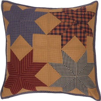 Kindred Star Patchwork Pillow 18x18