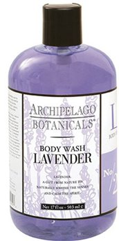 Archipelago Lavender 17 oz. Body Wash