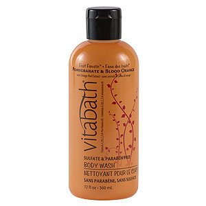 Vitabath Fruit Fanatic Pomegranate & Blood Orange Body Wash (12 fl oz)