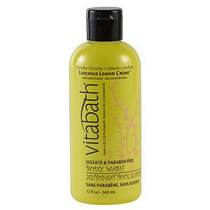 Vitabath Cupcake Couture Luscious Lemon Creme Body Wash (12 fl oz)