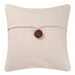 Beige Feather Down Pillow