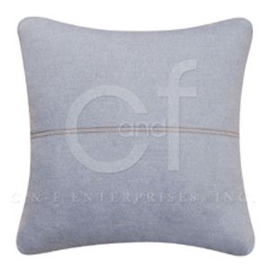 Blue Chambray Pillow