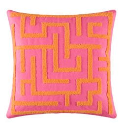 Zara Maze Tufted Pillow