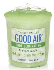 Yankee Candle Just Plain Fresh Good Air Sampler Votive