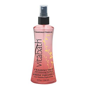 Vitabath Fruit Fanatic Grapefruit Vanilla Fragrance Mist (8 fl oz)