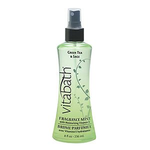 Vitabath Spa Day Green Tea & Sage Fragrance Mist (8 fl oz)