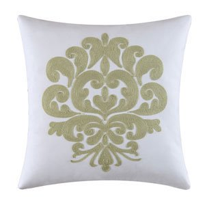 Providence Cucumber Chain Stitch Pillow