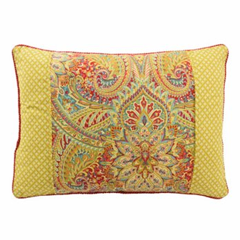 Waverly Swept Away Reversible Oblong Decorative Accessory Pillow