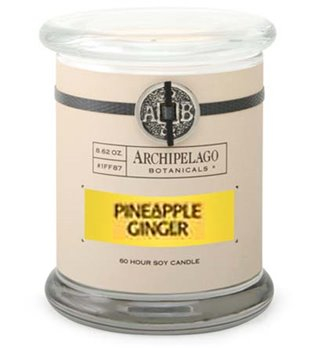Archipelago Pineapple Ginger Jar Candle