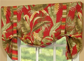 Captiva Tie Up Valance