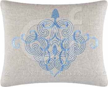 Daphne Filigree Embroidered Pillow