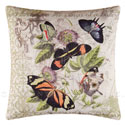 Althea Butterflies Canvas Pillow