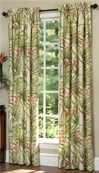 Cozumel Rod Pocket Curtains