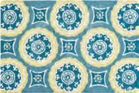 Delilah Blue Washable Rug