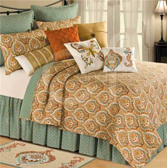 Mandalay Twin Quilt