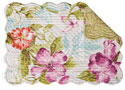 Clara Rectangular Quilted Placemat