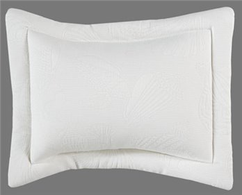 Jamaican Sunset Breakfast Pillow White Matlessee Shell