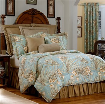 "Martinique Queen Thomasville Comforter Set (15"" bedskirt)"