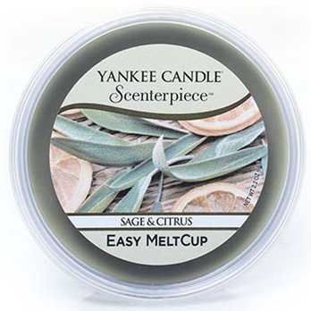 Yankee Candle Sage & Citrus Scenterpiece Easy MeltCup