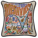 Nashville Embroidered Pillow