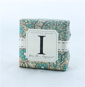 Gianna Rose Letter I Monogram Bar Soap