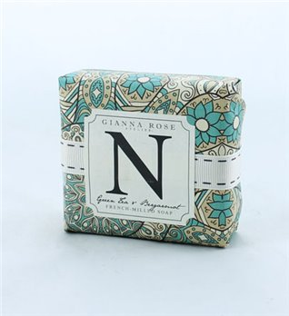 Gianna Rose Letter N Monogram Bar Soap
