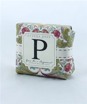 Gianna Rose Letter P Monogram Bar Soap
