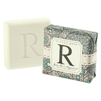 Gianna Rose Letter R Monogram Bar Soap