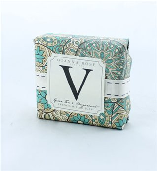 Gianna Rose Letter V Monogram Bar Soap
