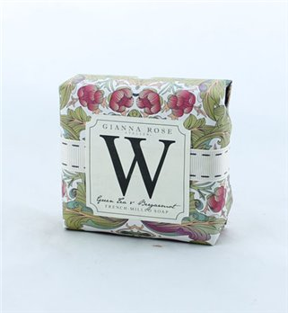Gianna Rose Letter W Monogram Bar Soap