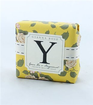 Gianna Rose Letter Y Monogram Bar Soap