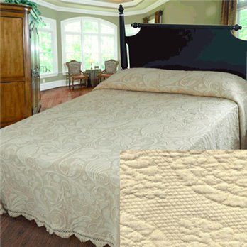 Dyer's Wynd Queen Antique Bedspread