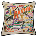 Austin Embroidered Pillow