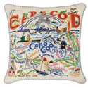 Cape Cod Embroidered Pillow