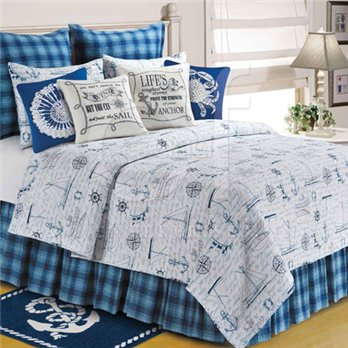 Fair Winds King Quilt
