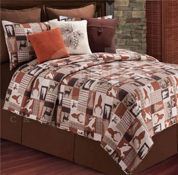 Hunter Full Queen Quilt