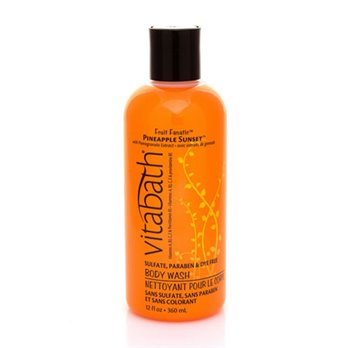 Vitabath Fruit Fanatic Pineapple Sunset Body Wash (12 fl oz)