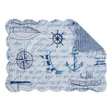 Fair Winds Rectangular Quilted Placemat