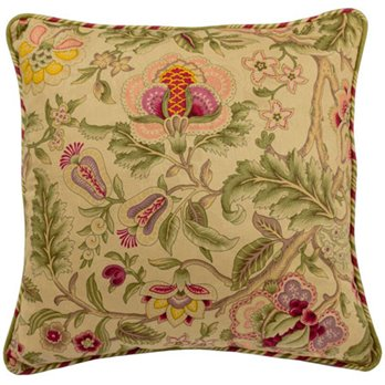 Imperial Dress Antique 18 inch Square Pillow