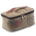 Mona B. USA Flag Dopp Kit