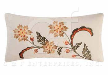 Jocelyn Embroidered Pillow