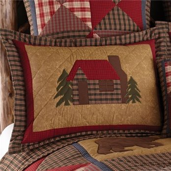 Cabin king size pillow sham from Park Designs