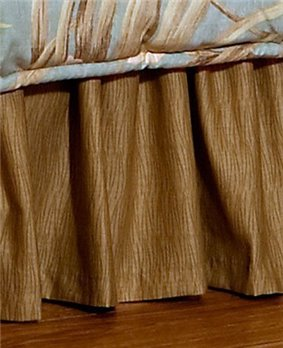 "Martinique Cal King 15"" Drop Bedskirt"