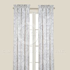 Clementina Cement Drapery Panel