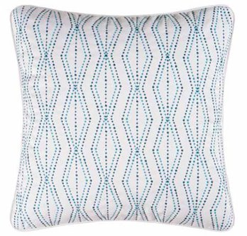 Sasha Bright Embroidered Pillow