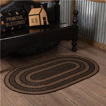 Farmhouse Jute Rug Oval 36x60